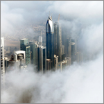 Dubai fog