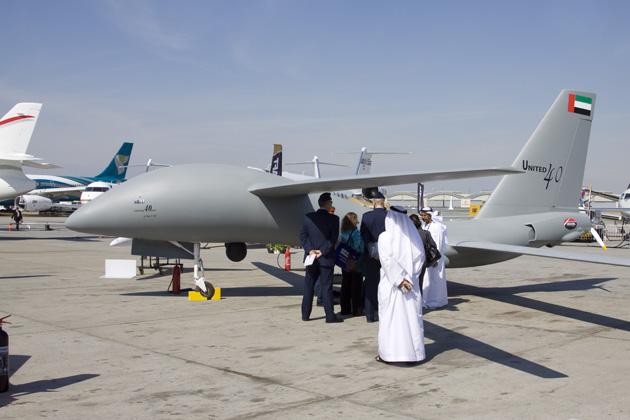 الجزائر تبدي اهتمامها بطائرة يونايتد 40 الاماراتية البلوك 5 United40MALE