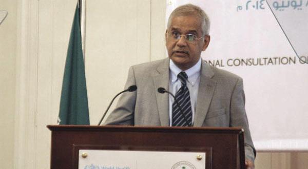 عز الدين محسن ممثل منظمة الصحة العالمية في السعودية