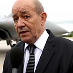 - وزير الدفاع الفرنسي جان ايف لودريان -