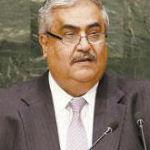 - وزير خارجية البحرين الشيخ خالد بن أحمد آل خليفة -