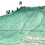 علم-داعش-وعناصر-من-التنظيم-فوق-أحد-التلال-المطلة-على-مدينة-كوباني-150x150
