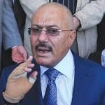 الرئيس اليمني السابق علي عبد الله صالح - اليمن