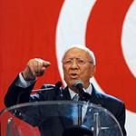 المؤسس لحزب نداء تونس الباجي قائد السبسي