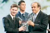 ميسي يتوج موسمه بـ «أفضل لاعب» في أوروبا